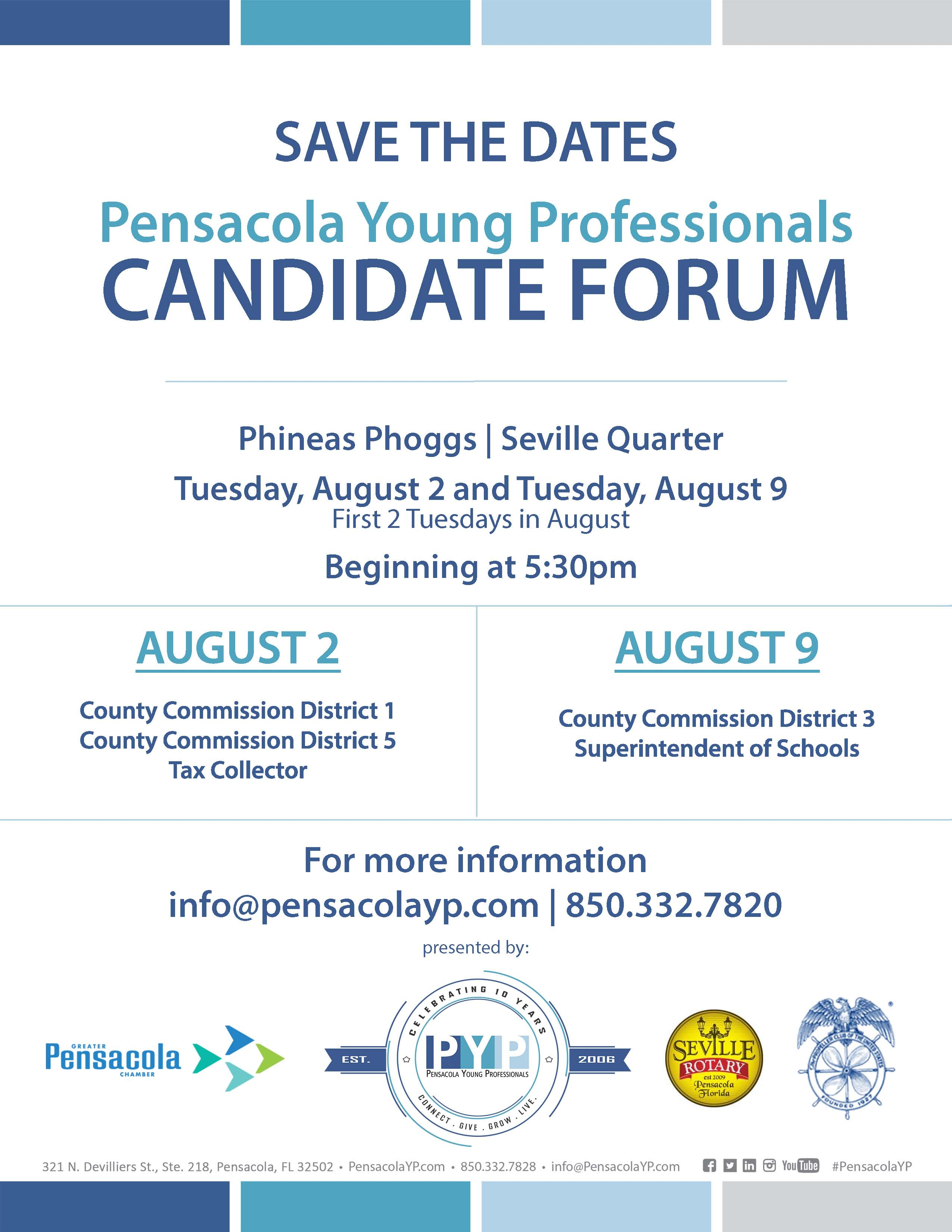 Save the Date Candidate Forum