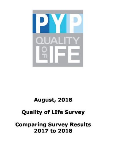 Quality of Life Survey Cross Tabulations 2016