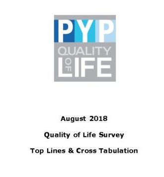 Quality of Life Survey results 2008 - 2016