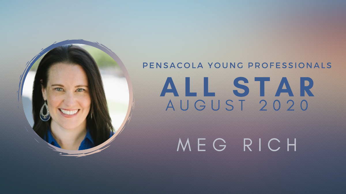 meg rich all start pensacola young professionals